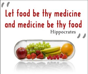 best medicine is food