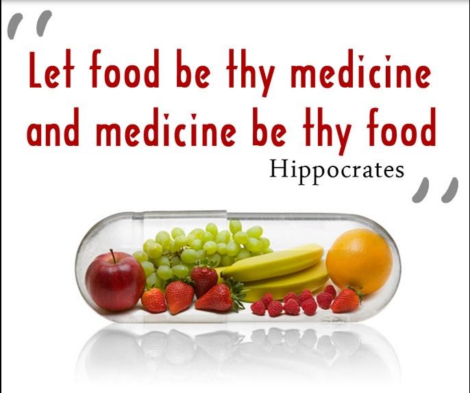 food best medicine