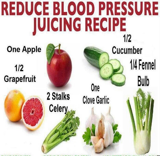Natural Foods That Can Lower Blood Pressure