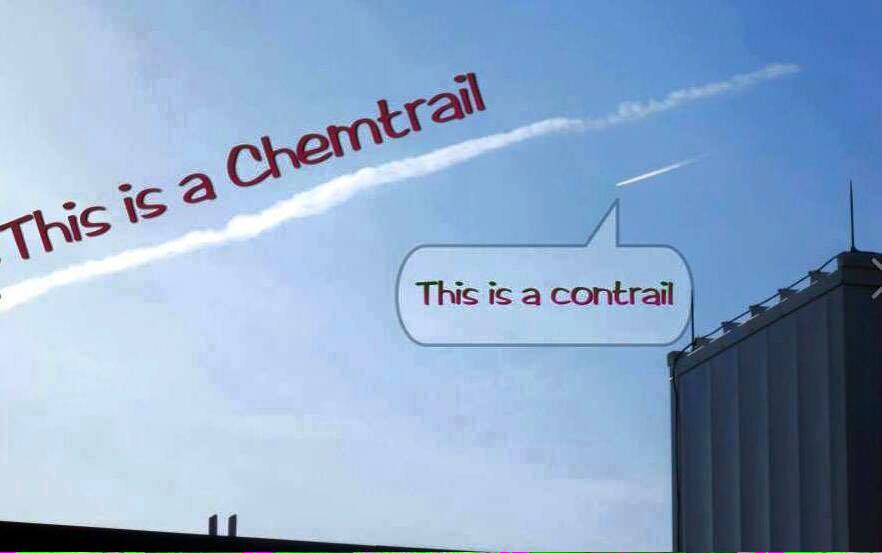 chemtrails or contrails