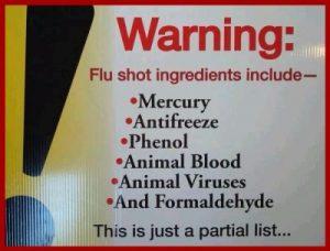 influenza vaccine ingredients