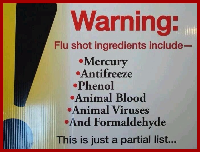 influenza vaccine ingredients