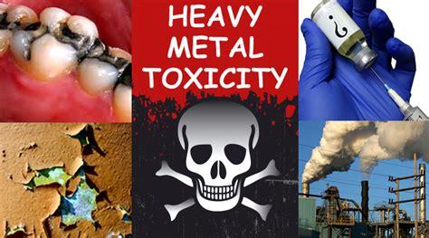 heavy metal toxicity symptoms