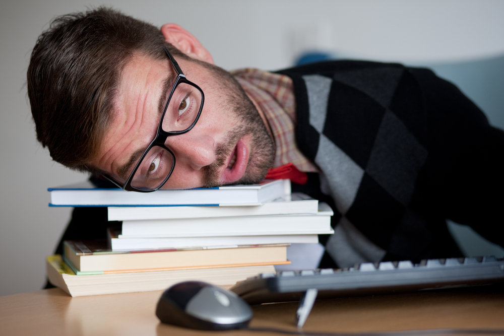 guy with fatigue